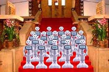 政府、「影の内閣」組閣へ ロボット導入で公務軽減